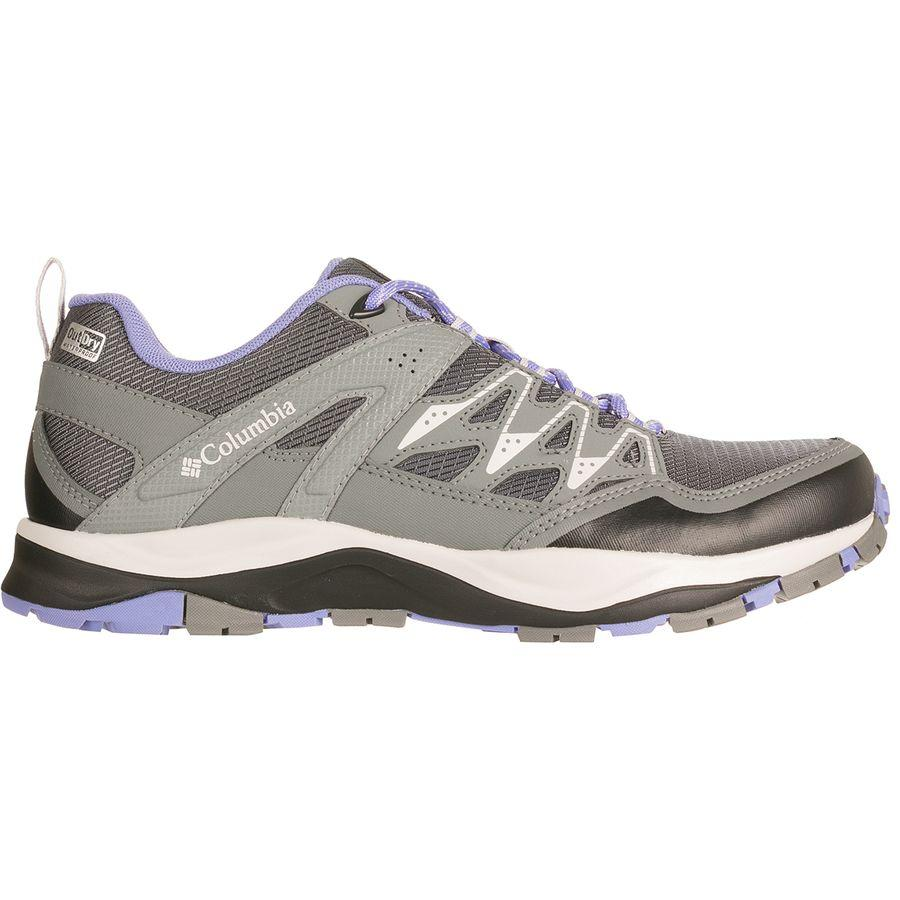 【クーポンで最大2000円OFF】(取寄)コロンビア レディース ウェイファインダー アウトドライ ハイキングシューズ Columbia Women Wayfinder Outdry Hiking Shoe Graphite/Fairytale