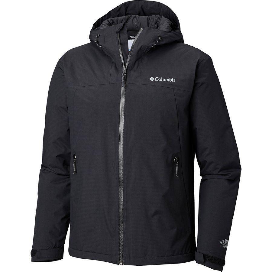 【クーポンで最大2000円OFF】(取寄)コロンビア メンズ トップ パイン インサレーテッド ジャケット Columbia Men's Top Pine Insulated Jacket Black
