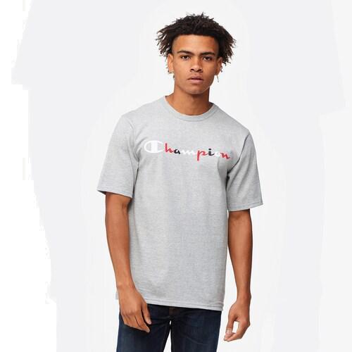 (取寄)チャンピオン メンズ グラフィック Tシャツ Champion Men's Graphic T-Shirt Grey White Red Black