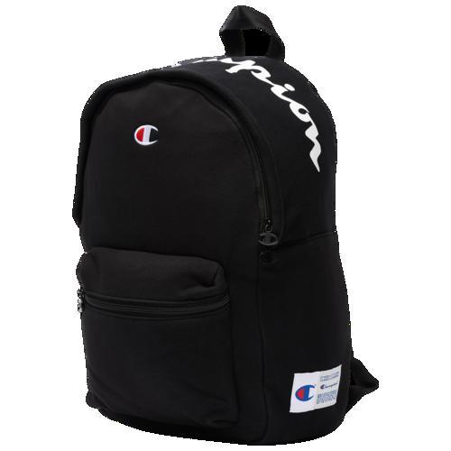 (取寄)チャンピオン リバース ウィーブ バックパック Champion Reverse Weave Backpack 黒
