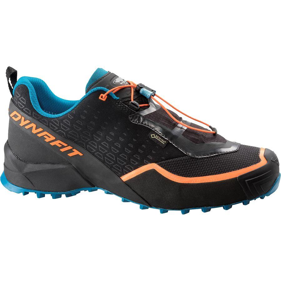 【クーポンで最大2000円OFF】(取寄)ディナフィット メンズ スピード MTN Gore-Texトレイル ランニングシューズ Dynafit Men's Speed MTN Gore-Tex Trail Running Shoe Black/Mykonos Blue
