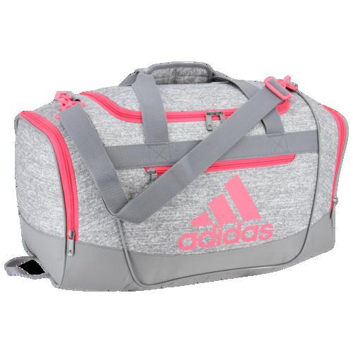 (取寄)アディダス ディフェンダー 3 スモール ダッフル adidas Defender III Small Duffel Gray Jersey Gray Teal Pink
