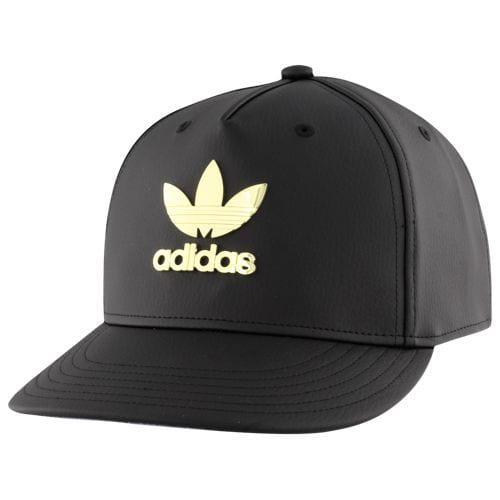 (取寄)アディダス メンズ オリジナルス メタル トレフォイル プラス スナップバック Men's adidas Originals Metal Trefoil Plus Snapback Black Gold