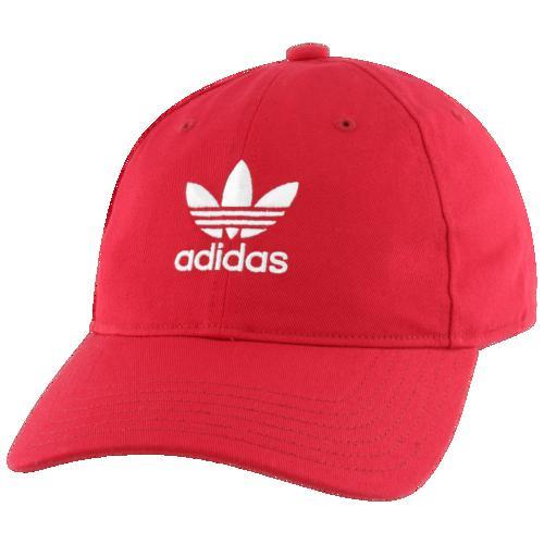 (取寄)アディダス メンズ オリジナルス ウォッシュド リラックスド ストラップバック Men's adidas Originals Washed Relaxed Strapback Scarlet