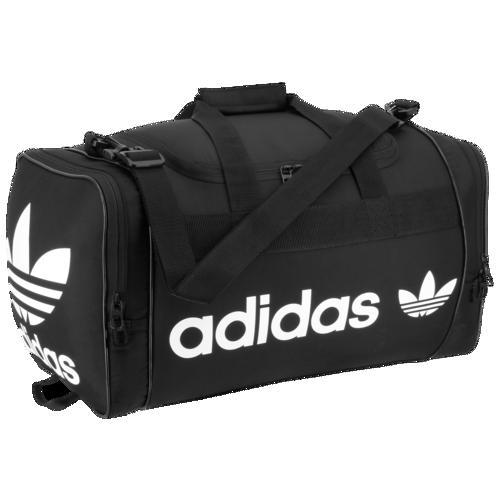 アディダス オリジナルス ダッフルバッグ サンティアゴ 2 ダッフル 肩掛け ショルダー 黒 ブラック adidas Originals Santiago II Duffel Black White
