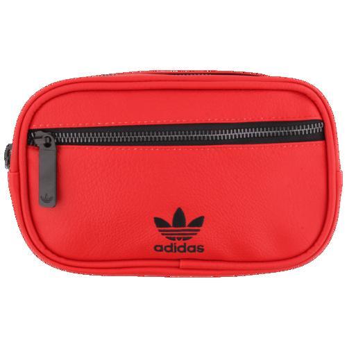 (取寄)アディダス オリジナルス PU レザー ウェイスト パック adidas Originals PU Leather Waist Pack Scarlet
