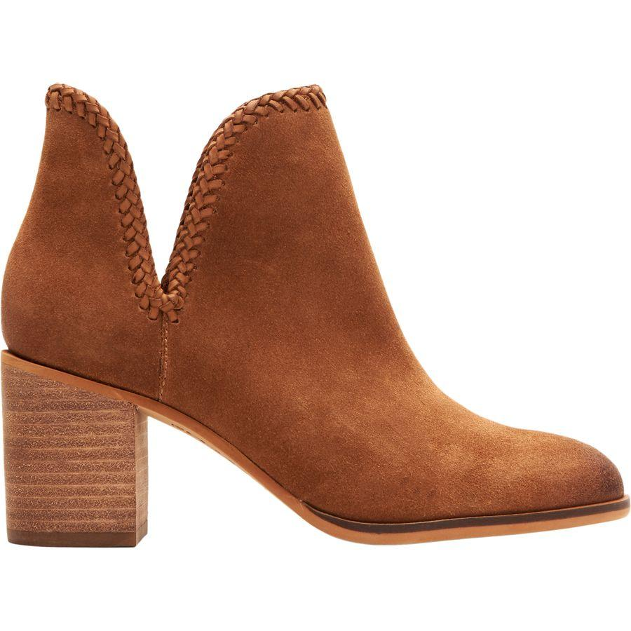 (取寄)フライ レディース Co フィービー ブレード ブーティー ブーツ Frye Women Co Phoebe Braid ie Boot Cognac