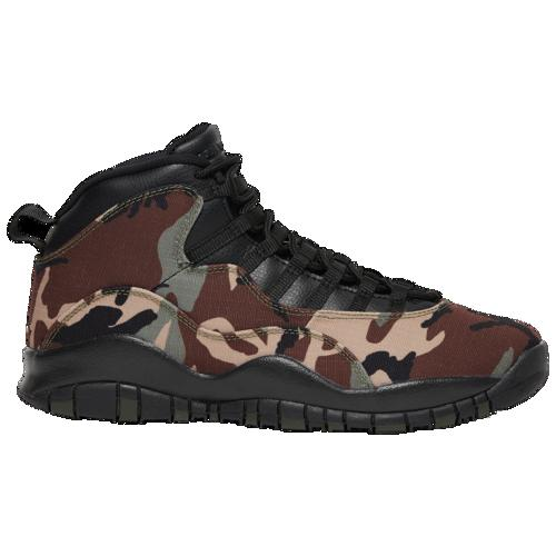 (取寄)ジョーダン メンズ レトロ 10 Jordan Men's Retro 10 Desert Camo Black Light Chocolate