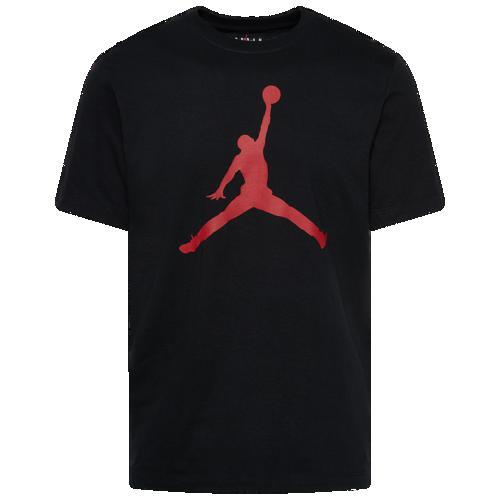(取寄)ジョーダン メンズ ジャンプマン クルー Tシャツ Jordan Men's Jumpman Crew T-Shirt Black Gym Red