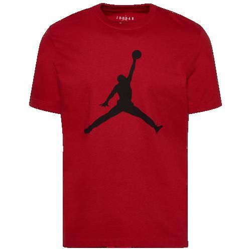 (取寄)ジョーダン メンズ ジャンプマン クルー Tシャツ Jordan Men's Jumpman Crew T-Shirt Gym Red Black