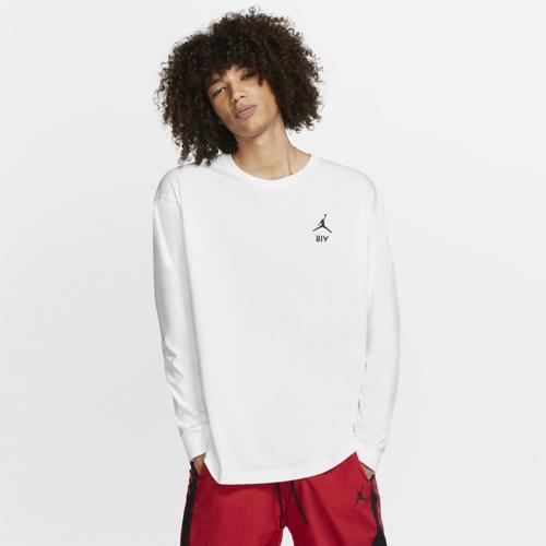 (取寄)ジョーダン メンズ レトロ 4 レガシー ロング スリーブ Tシャツ Jordan Men's Retro 4 Legacy Long Sleeve T-Shirt White