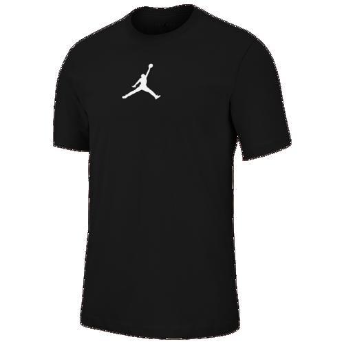 (取寄)ジョーダン メンズ ジャンプマン ドライフィット クルー Tシャツ Jordan Men's Jumpman Dri-FIT Crew T-Shirt Black White