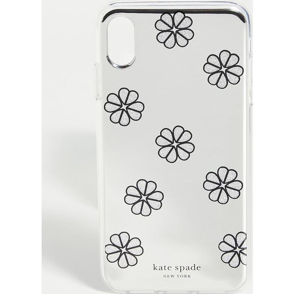 (取寄)ケイトスペード ミラー スペード アイフォン ケース Kate Spade New York Mirror Spade iPhone Case SilverMulti