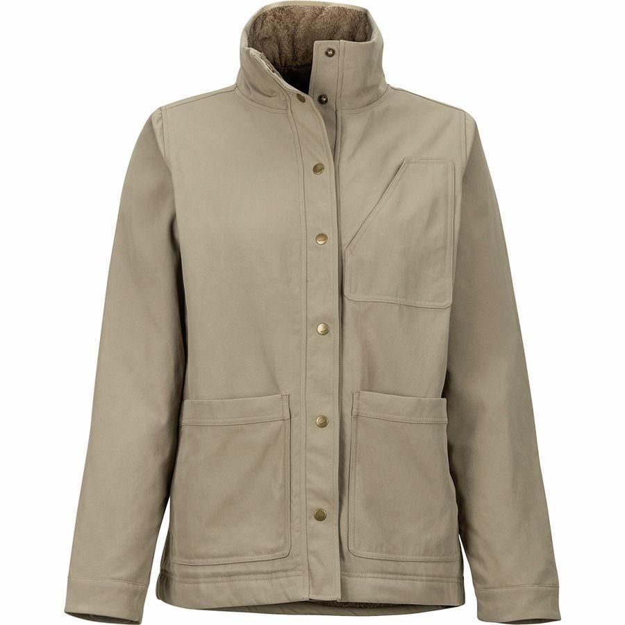 (取寄)マーモット レディース パイオニア ジャケット Marmot Women Pioneer Jacket Desert Khaki