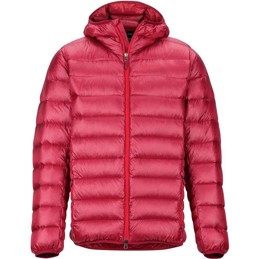 【マラソン ポイント10倍】(取寄)マーモット メンズ ハイプ ダウン フーデッド ジャケット Marmot Men's Hype Down Hooded Jacket Brick