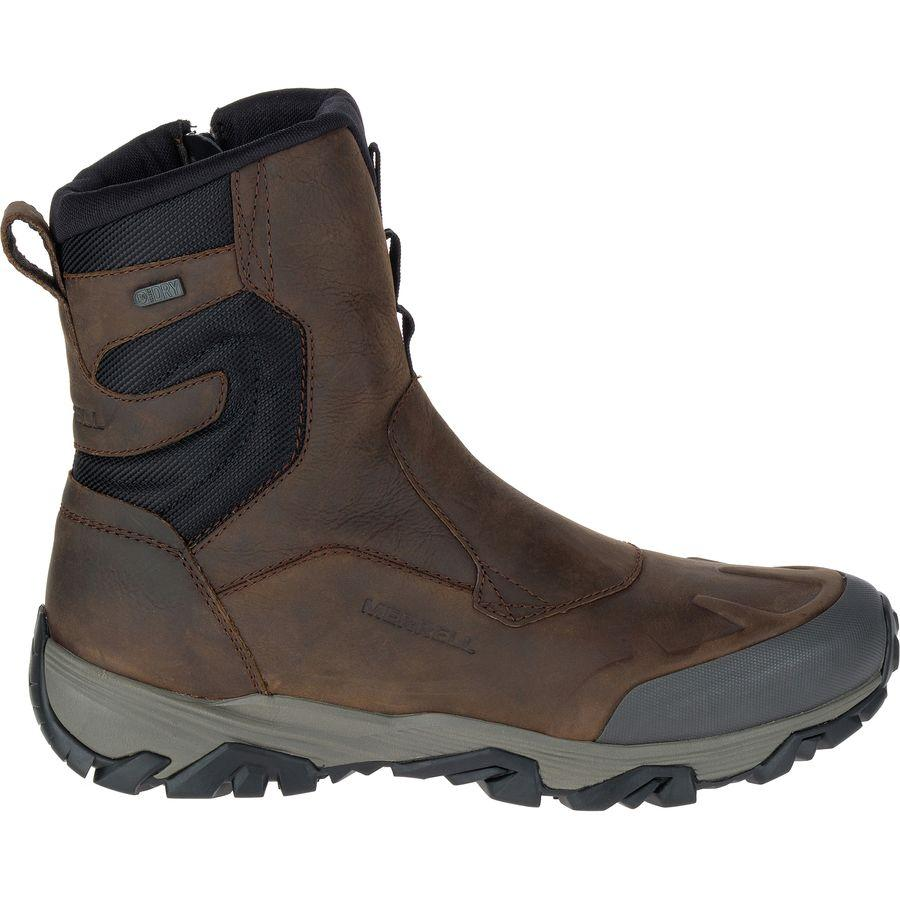 (取寄)メレル メンズ コールドパック アイス+ 8in ジップ ポーラー ブーツ Merrell Men's Coldpack Ice+ 8in Zip Polar Boot Copper Mountain