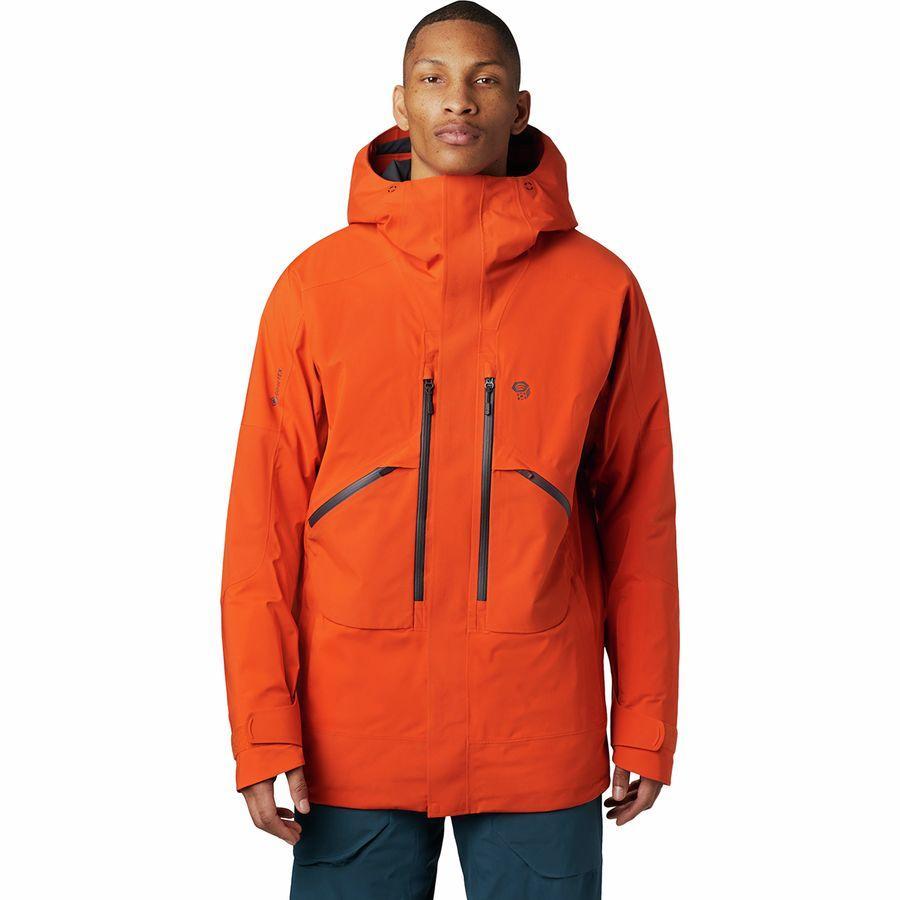 【クーポンで最大2000円OFF】(取寄)マウンテンハードウェア メンズ クラウド バンク Gtx インサレーテッド ジャケット Mountain Hardwear Men's Cloud Bank GTX Insulated Jacket Haze Orange