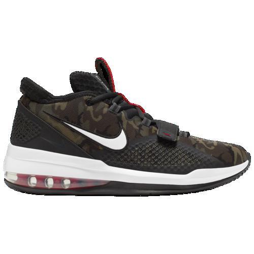 (取寄)ナイキ メンズ エア フォース マックス ロー Nike Men's Air Force Max Low Black White University Red