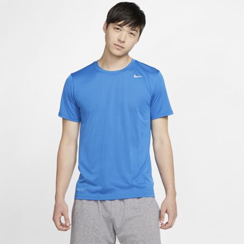 (取寄)ナイキ メンズ レジェンド 2.0 ショート スリーブ Tシャツ Nike Men's Legend 2.0 Short Sleeve T-Shirt Battle Blue White