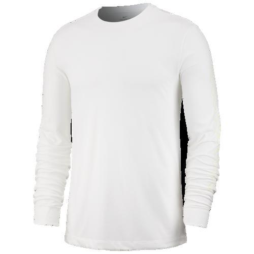 (取寄)ナイキ メンズ コースト 2 コースト サマー ロングスリーブ Tシャツ Nike Men's Coast 2 Coast Summer L/S T-Shirt White