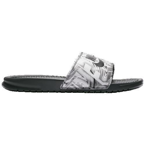 (取寄)ナイキ メンズ ベナッシ JDI スライド Nike Men's Benassi JDI Slide Anthracite Black