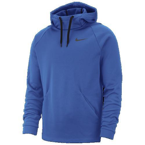 (取寄)ナイキ メンズ パーカー サーマ フーディ Nike Men's Therma Hoodie Battle Blue Black