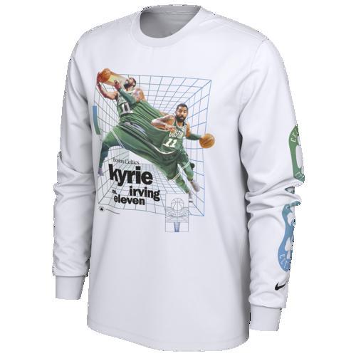 (取寄)ナイキ メンズ NBA タイム ワープ Tシャツ ボストン セルティクス Nike Men's NBA Time Warp T-Shirt ボストン セルティクス White