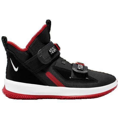 (取寄)ナイキ メンズ バッシュ レブロン ソルジャー 13 SFG バスケットボール シューズ Nike Men's LeBron Soldier XIII SFG Black White University Red