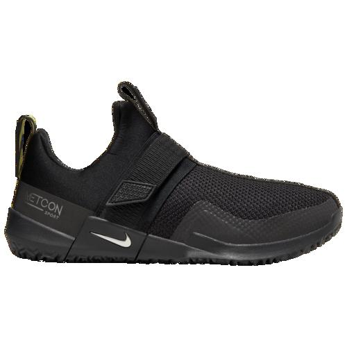(取寄)ナイキ メンズ メトコン スポーツ PE Nike Men's Metcon Sport PE Black Metallic Silver Optic Yellow