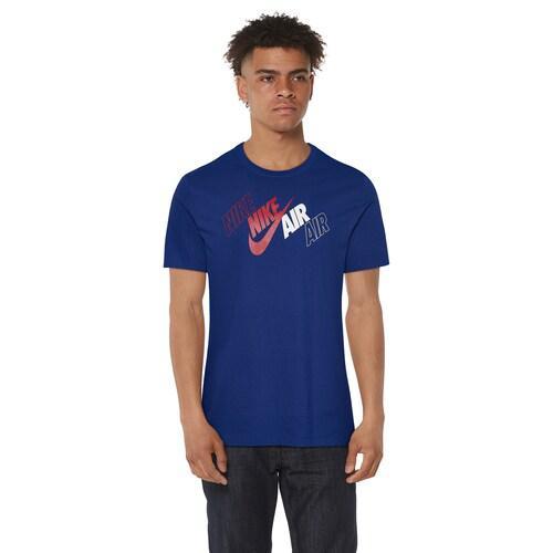 (取寄)ナイキ メンズ グラフィック Tシャツ Nike Men's Graphic T-Shirt Blue Red