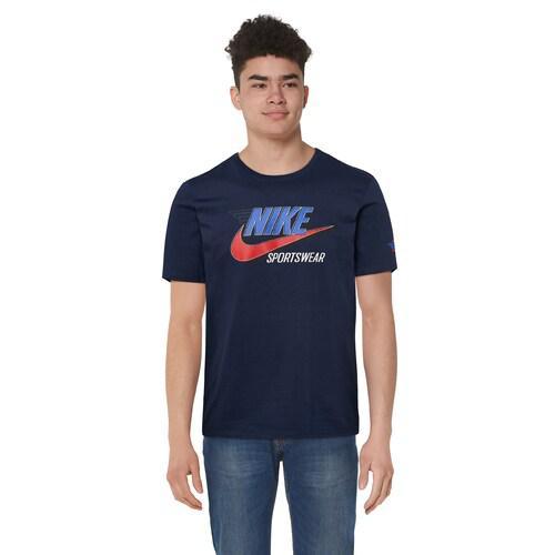 (取寄)ナイキ メンズ グラフィック Tシャツ Nike Men's Graphic T-Shirt Navy Blue