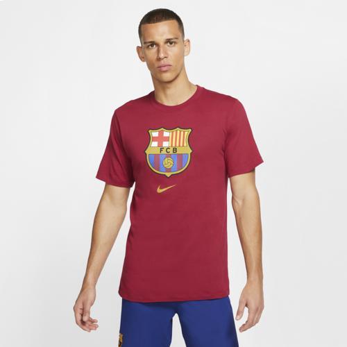 (取寄)ナイキ メンズ サッカー エバーグリーン クレスト Tシャツ Nike Men's Soccer Evergreen Crest T-Shirt Noble Red