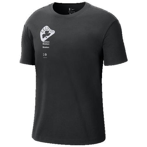 (取寄)ナイキ メンズ NBA コートサイド リピート ロゴ Tシャツ ボストン セルティクス Nike Men's NBA Courtside Repeat Logo T-Shirt ボストン セルティクス Black White