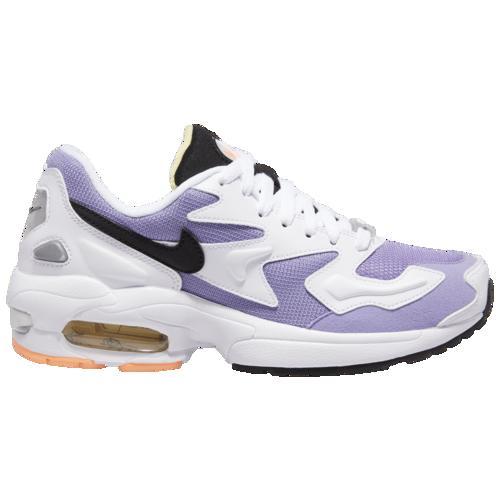 (取寄)ナイキ レディース エア マックス 2 ライト Nike Women's Air Max 2 Light White Black Med Violet Orange Pulse