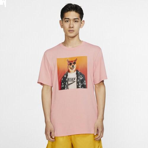 (取寄)ナイキ メンズ メンズウェア ドッグ Tシャツ Nike Men's Menswear Dog T-Shirt Bleached Coral
