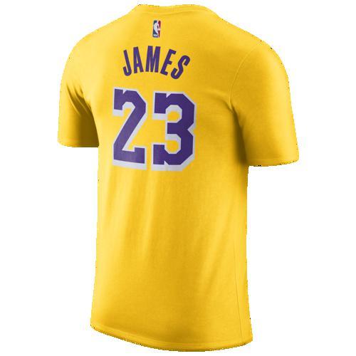 (取寄)ナイキ メンズ NBA プレーヤー ネーム アンパサンド ナンバー Tシャツ ロス エンジェルス レイカーズ Nike Men's NBA Player Name & Number T-Shirt ロス エンジェルス レイカーズ Amarillo