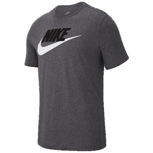 (取寄)ナイキ メンズ アイコン フューチュラ Tシャツ Nike Men's Icon Futura T-Shirt Dark Grey Heather Black White