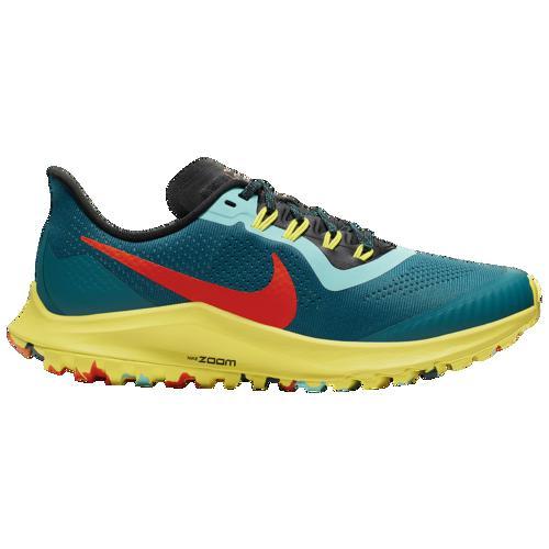 (取寄)ナイキ レディース エア ズーム ペガサス 36 トレイル Nike Women's Air Zoom Pegasus 36 Trail Geode Teal Brt Crimson Black Chrome Yellow