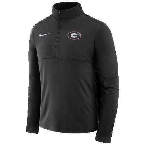 (取寄)ナイキ メンズ カレッジ コア 1/2 ジップ プルオーバー ジャケット Nike Men's College Core 1/2 Zip Pullover Jacket Black
