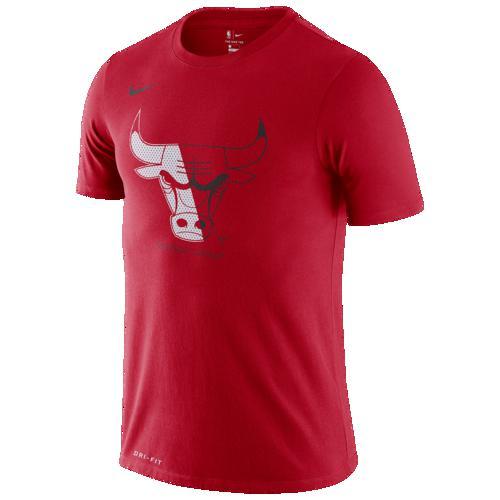 (取寄)ナイキ メンズ NBA スプリット ロゴ Tシャツ シカゴ ブルズ Nike Men's NBA Split Logo T-Shirt シカゴ ブルズ University Red