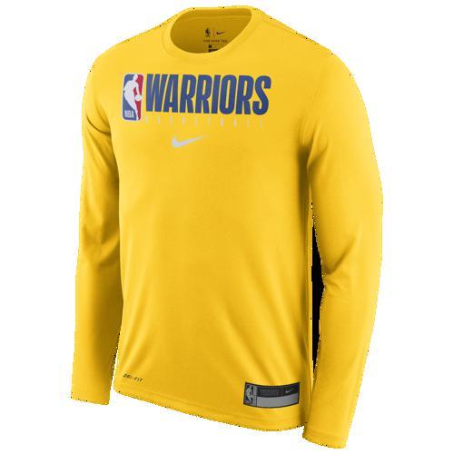 (取寄)ナイキ メンズ NBA グラフィック プラクティス ロングスリーブ Tシャツ ゴールデン ステイト ウォリアーズ Nike Men's NBA Graphic Practice L/S T-Shirt ゴールデン ステイト ウォリアーズ Amarillo