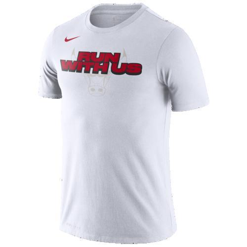 (取寄)ナイキ メンズ NBA マントラ Tシャツ シカゴ ブルズ Nike Men's NBA Mantra T-Shirt シカゴ ブルズ White