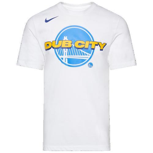 (取寄)ナイキ メンズ NBA マントラ Tシャツ ゴールデン ステイト ウォリアーズ Nike Men's NBA Mantra T-Shirt ゴールデン ステイト ウォリアーズ White