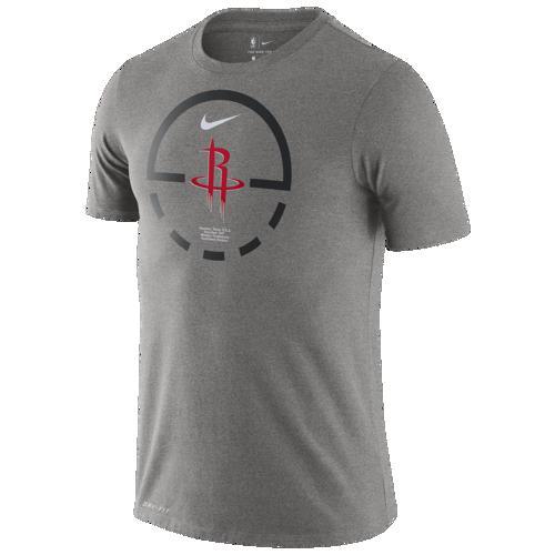 (取寄)ナイキ メンズ NBA コート レーンズ Tシャツ ヒューストン ロケッツ Nike Men's NBA Court Lanes T-Shirt ヒューストン ロケッツ Dark Grey Heather