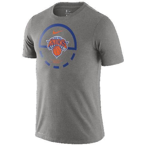 (取寄)ナイキ メンズ NBA コート レーンズ Tシャツ ニュー ヨーク ニックス Nike Men's NBA Court Lanes T-Shirt ニュー ヨーク ニックス Dark Grey Heather