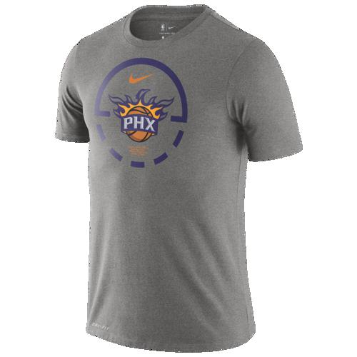 (取寄)ナイキ メンズ NBA コート レーンズ Tシャツ フェニックス サンズ Nike Men's NBA Court Lanes T-Shirt フェニックス サンズ Dark Grey Heather