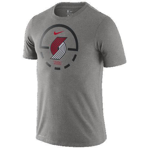 (取寄)ナイキ メンズ NBA コート レーンズ Tシャツ ポートランド トレイル ブレイザーズ Nike Men's NBA Court Lanes T-Shirt ポートランド トレイル ブレイザーズ Dark Grey Heather