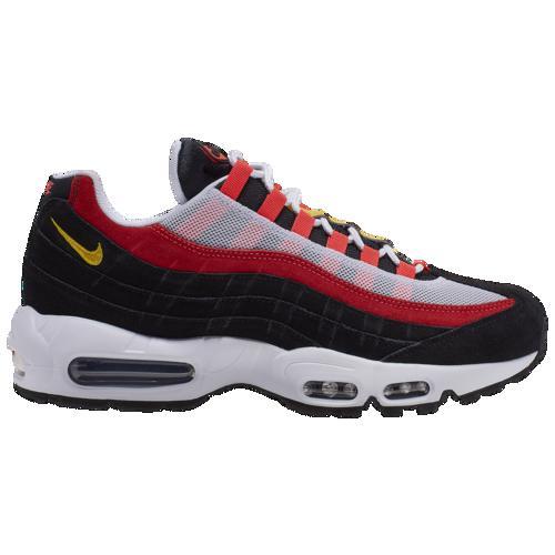 (取寄)ナイキ メンズ エア マックス 95 Nike Men's Air Max 95 White Chrome Yellow Black Crimson
