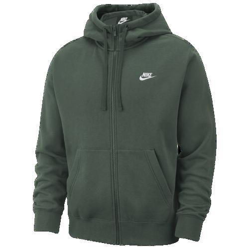 (取寄)ナイキ メンズ パーカー クラブ フルジップ フーディ Nike Men's Club Full-Zip Hoodie Galactic Jade White
