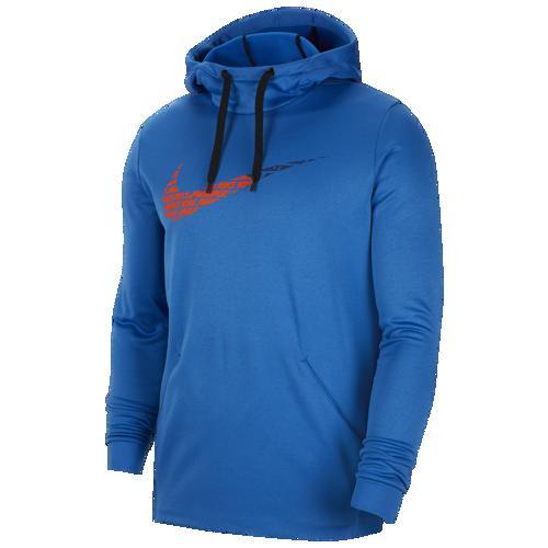 (取寄)ナイキ メンズ パーカー サーマ グラフィック スウッシュ フーディ Nike Men's Therma Graphic Swoosh Hoodie Battle Blue
